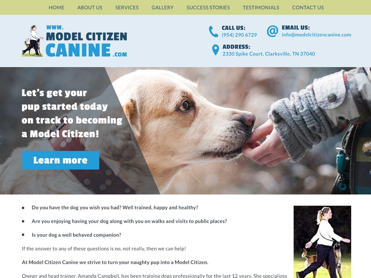 Model Canine